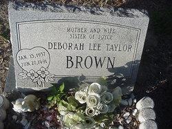 Deborah Lee <i>Taylor</i> Brown