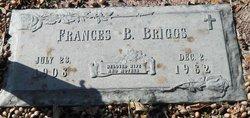 Frances B Briggs