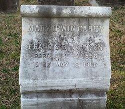 Mary Irwin <i>Carey</i> Allison
