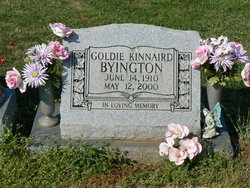 Goldie <i>Kinnaird</i> Byington