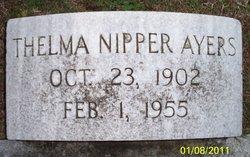 Thelma <i>Nipper</i> Ayers