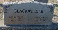 Abram Bingham Blackwelder