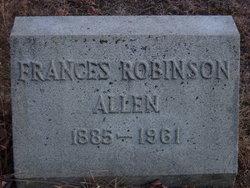 Frances <i>Robinson</i> Allen