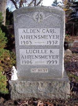 Lucille K. <i>McGuire</i> Ahrensmeyer