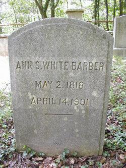 Ann S <i>White</i> Barber