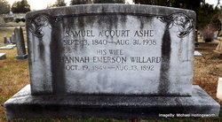 Hannah Emerson <i>Willard</i> Ashe