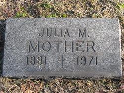 Mrs Julia M. Zakrzewski