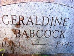 Geraldine Isabelle <i>Hunsinger</i> Babcock