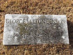 George Milton Benson