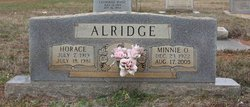 Minnie O Alridge