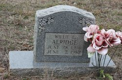Willie L Alridge