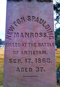 Capt Newton Spalding Manross