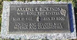 Arlene E. <i>Watkins</i> Bickings