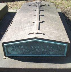 Cynthia Maria <i>Hawes</i> Wesson