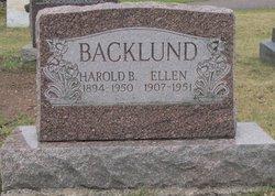 Harold B Backlund