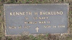 Kenneth H Backlund