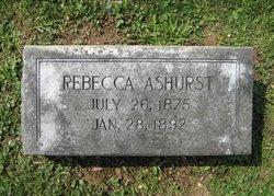 Rebecca Ashurst