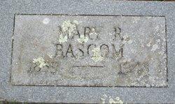 Mary <i>Robinson</i> Bascom