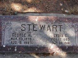 Lydia Catherine <i>Covington</i> Stewart