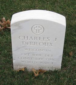 Charles J DeBroux