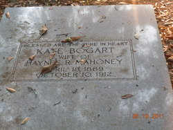 Kate <i>Bogart</i> Mahoney