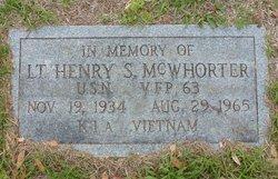 Lieut Henry Sterling McWhorter