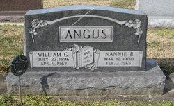 Nannie Belle <i>Epps</i> Angus