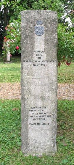 Albrecht zu Hohenlohe-Langenburg