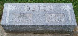 Wilhelmina Eva Willa <i>Demaree</i> Bliton