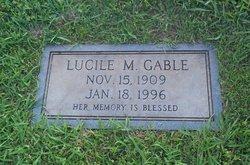 Lucille Mildred <i>Maynard</i> Gable