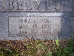 Nora Caroline <i>Fant Cannon</i> Belyeu