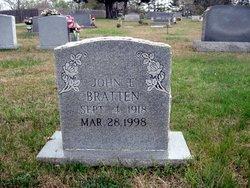 John Ervin Bratten
