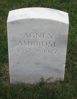 Agnes Ambrose