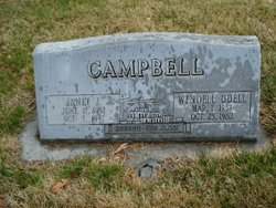 Wendell Odell Campbell