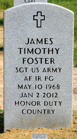 Sgt James Timothy Foster