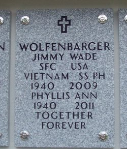 Sgt Jimmy W. Wolfenbarger