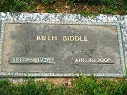 Ruth <i>Clarke</i> Biddle