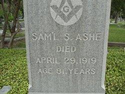 Samuel Swan Ashe
