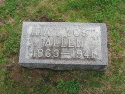 Ida T <i>Yost</i> Allen