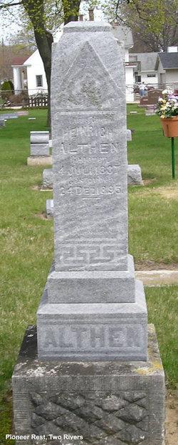 Heinrich K Henry Althen