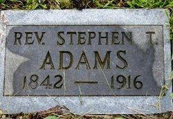 Rev Steven Adams