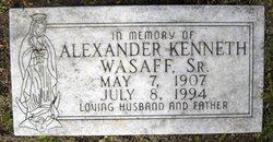 Alexander Kenneth Wasaff, Sr
