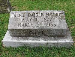 Alice <i>Daigle</i> Moore