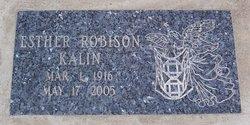 Esther <i>Robison</i> Kalin