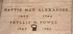 Hattie Mae Alexander
