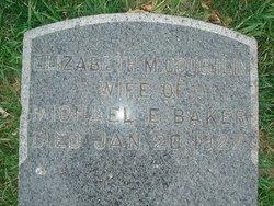 Elizabeth M. <i>Coughlin</i> Baker