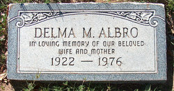 Delma M. <i>Alexander</i> Albro