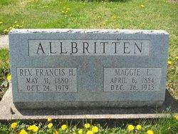 Maggie Lee <i>Matheny</i> Allbritten