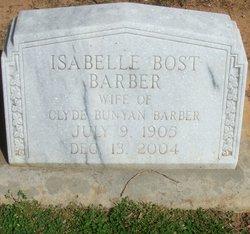 Isabelle Malinda <i>Bost</i> Barber