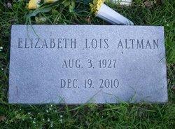 Elizabeth Lois <i>Tolar</i> Altman